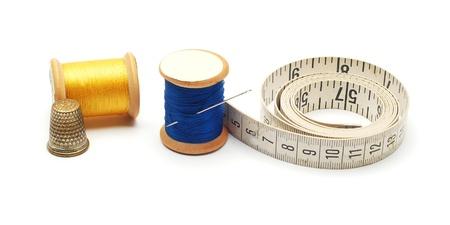 thimble: sewing items