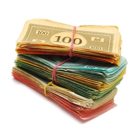fake: fake money   Stock Photo