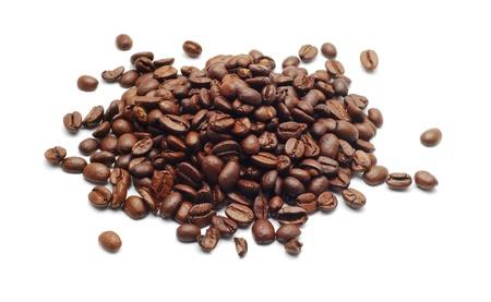 frijol: granos de caf� Foto de archivo