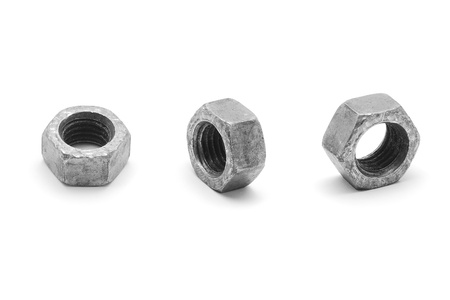 metal nut  photo