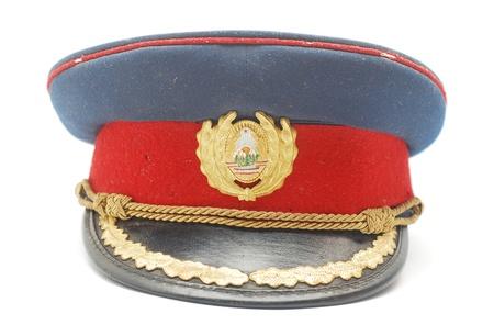 gorra policía: gorra militar