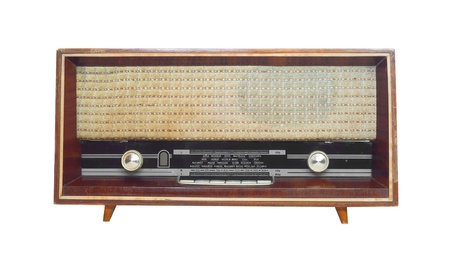 old radio   Stock Photo - 16298119