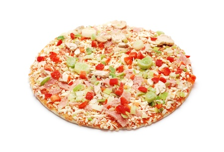 Frozen meat: frozen pizza