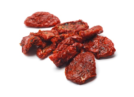 dehydrated: dried tomatoes   Stock Photo
