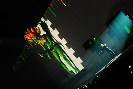 floyd: Roger Waters on stage in Belgrade, Serbia, live on one the most ambitious rock shows ever staged, Pink Floyd s The Wall