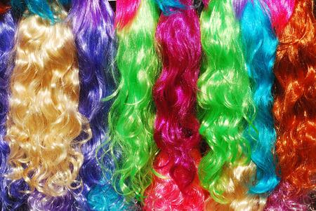 peruke:   wigs