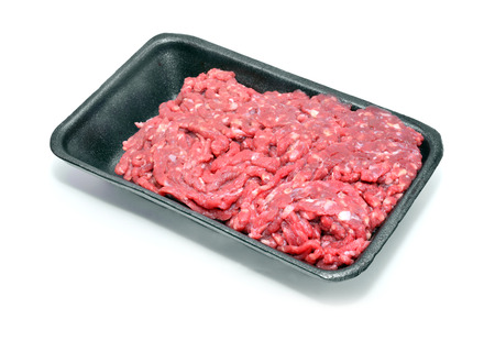 carne picada: carne picada Foto de archivo