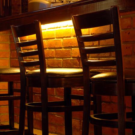 stools at the bar photo