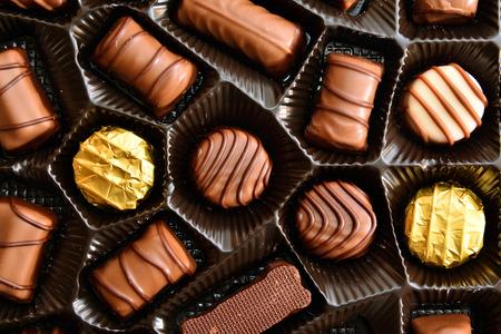 fancy sweet box: chocolate candies
