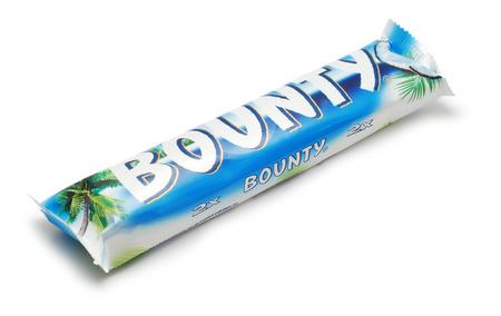 bounty: barra de chocolate de recompensas