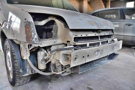 repaint: car repair