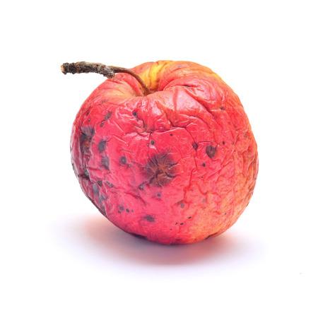 putrid: rotten apple