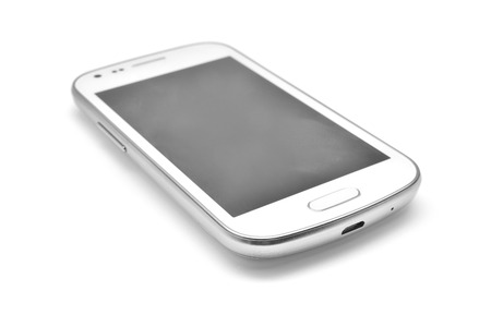 cell phone screen: smartphone  Stock Photo
