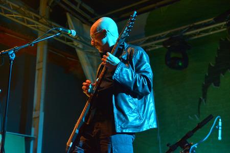 chapman: Garana, Romania - July 12th, 2014  Tony Levin of King Crimson performing live on stage with The Crimson ProjeKct at the Garana Jazz Festival  18th edition  in Garana, Romania, July 12th, 2014 Editorial