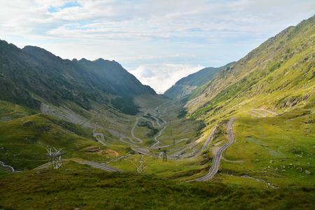 transfagarasan: transfagarasan, mountain road