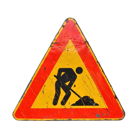 road work: road work sign
