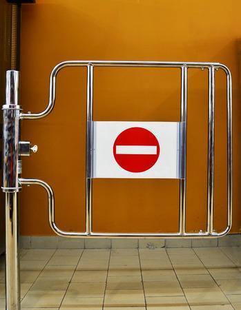 no access: no access sign