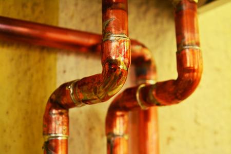 a copper: tubos de cobre y accesorios
