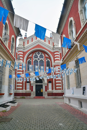 synagogue: the old synagogue in brasov, romania. Editorial
