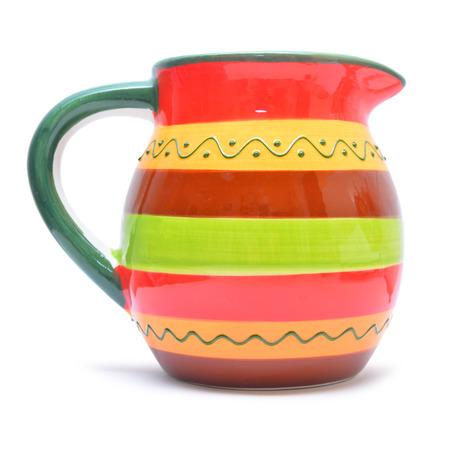 ceramica: lanzador  Foto de archivo