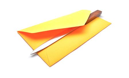 sobres de carta: open envelope