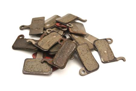 used bicycle brake pads