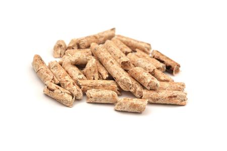 wood pellets Фото со стока