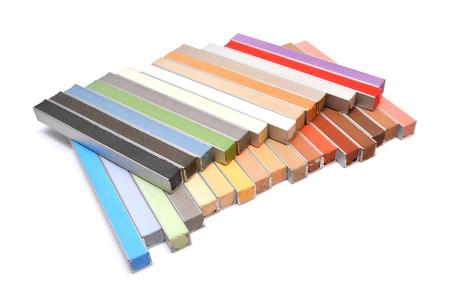 pastel color samples