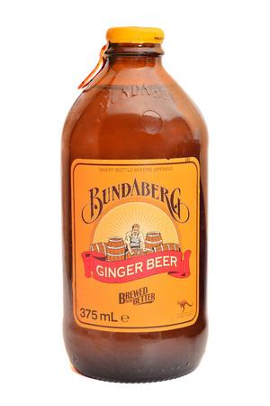 australian non-alcoholic ginger beer Editorial