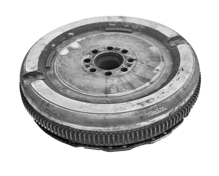used car clutch isolated on white background