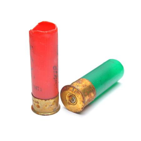 gun shell cartridges Stock Photo