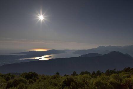 Sunshine over the Kotor Bay