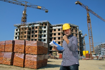 Construction Engineer, Well Done Stock Photo - 15502679