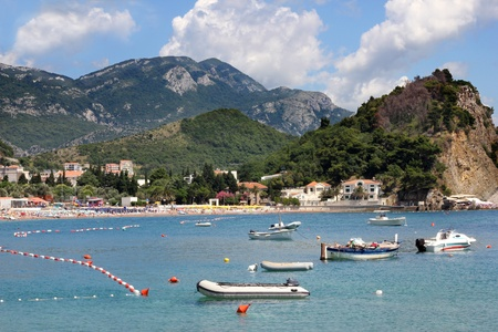 Sea at summertime in Montenegro Stock Photo - 15794930