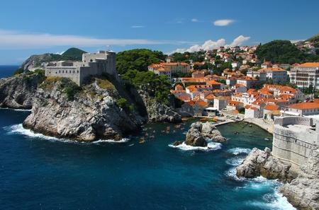 Dubrovnik, Adriatic Sea in Croatia