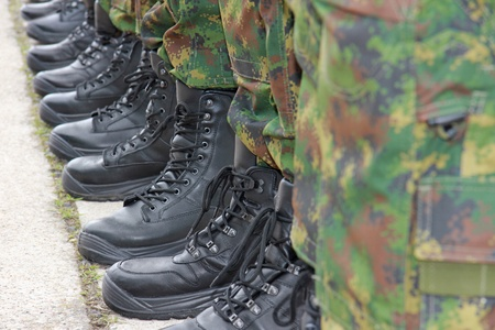 Army, Military Boots Imagens - 21045525