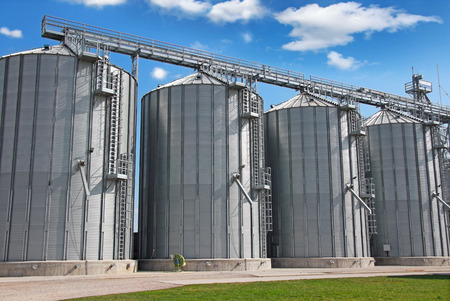 Agricultural Silo - Building Exterior