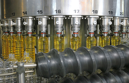 factory line: Sunflower Oil Filling Machine