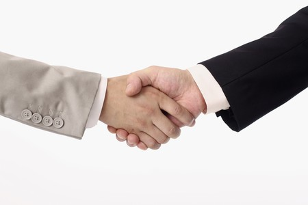 Businessmen shaking hands Stock Photo - 4194540