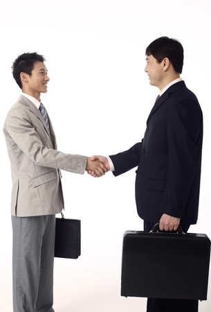 Businessmen shaking hands Stock Photo - 4194234