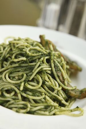mouthwatering: Plate of pasta