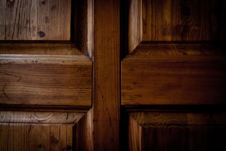 목제 문의 상세한 구조