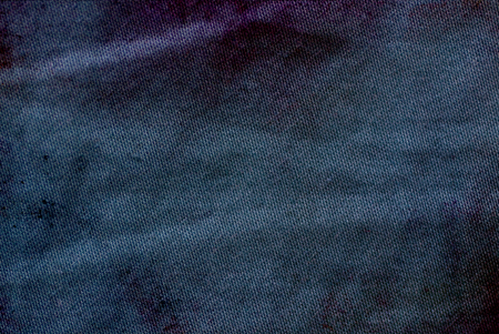 Navy blue grunge fabric texture background Stok Fotoğraf