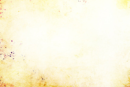 White canvas texture with yellow and purple stains