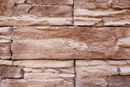 Natural brick stone wall detail texture Stok Fotoğraf