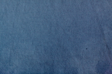 Simple blue woven fabric texture detail