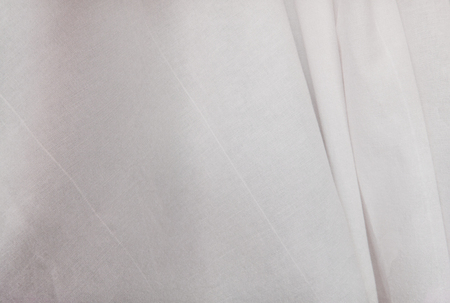 Simple white cloth cotton texture, useful as background