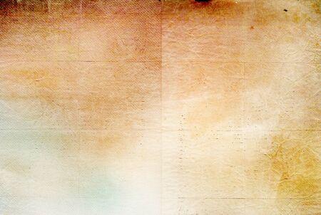 Retro paper texture - brown, beige, yellow paper background