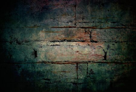 Mysterious background abstract dark wall brick texture