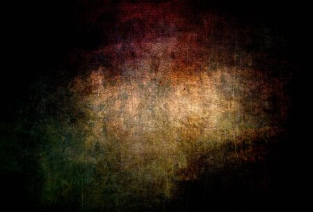 Background with scratches in black, red, purple color - scary eroded metal for graphic design 写真素材